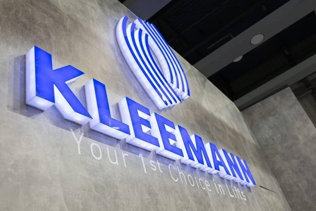 KLEEMAN branding